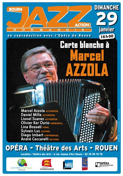 marcel azzola jacques tati carte blanche 224 marcel azzola 29 01 2017 rouenjazzaction