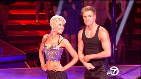 are the dances shorter this season on dwts kellie pickler derek hough jive dancing with the stars