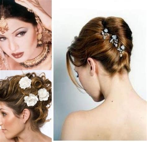 Wedding Hairstyles In India by Stunning Hair Style For Indian Wedding Official