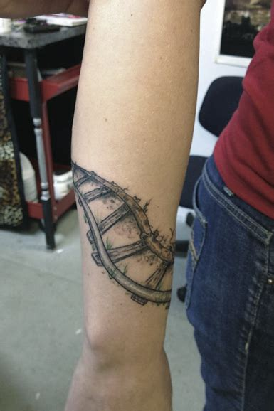 rr tattoo railroad tattoos part 4
