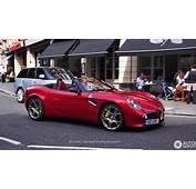 Alpha Romeo 8c 2007 Alfa Competizione 2008