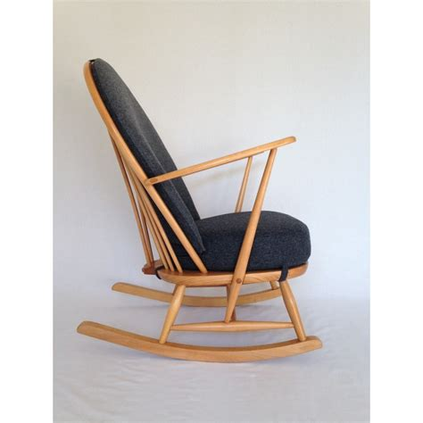 ercol armchair cushions ercol rocking chair 1960 s fully restored with new cushions
