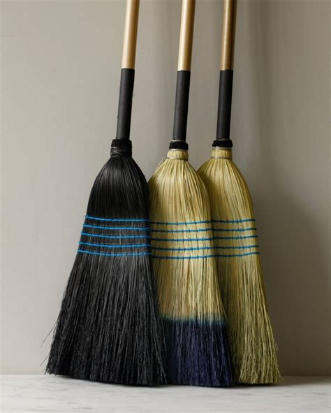 Handmade Brooms - an artful sweep display worthy household brooms remodelista