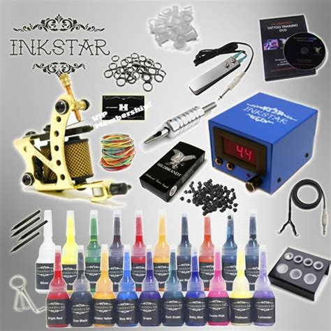 starter tattoo kits kit inkstar venture c kit with truecolor 20 ink set