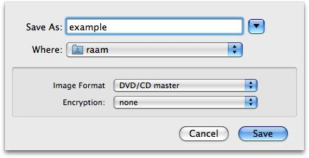 Cdr Filename Extension howto create an iso image from a cd in mac os x raam dev