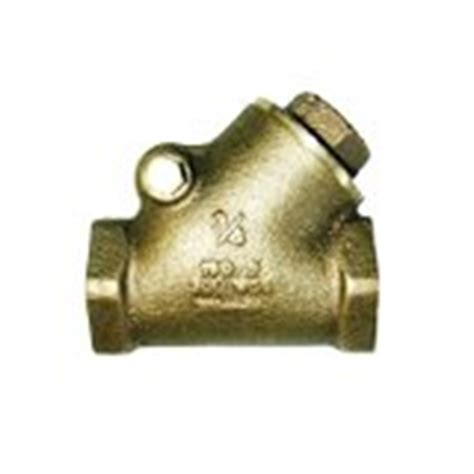 y pattern swing check valve midwest control scy 150 y pattern bronze swing check