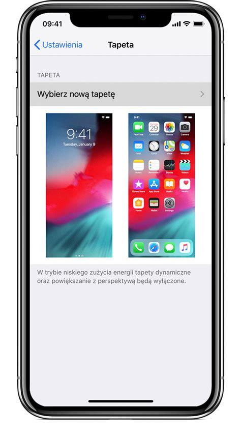zmienianie tapety na telefonie iphone wsparcie apple