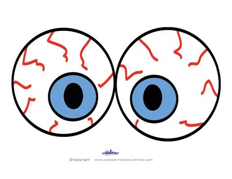 eyes printable pictures halloween printable eyes festival collections