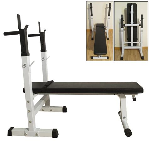 benching at the gym folding weight lifting flat sit up incline bench fitness