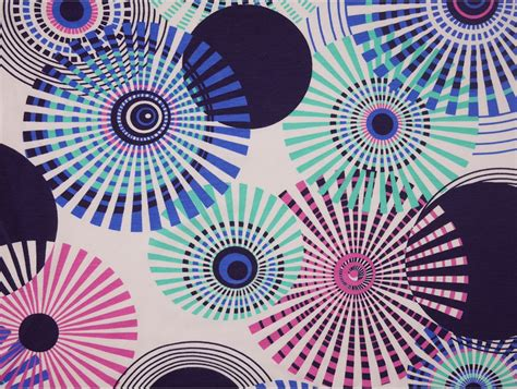 patterned jersey fabric uk printed viscose jersey fabric circles