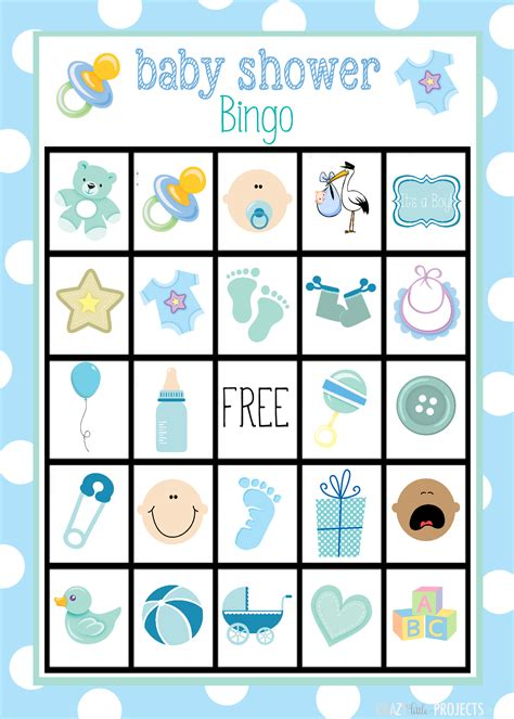 baby shower bingo free baby shower bingo cards