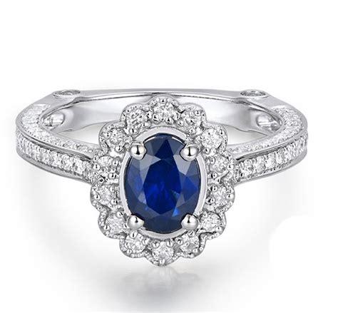 1 carat diamonds for sale sale antique floral 1 carat blue sapphire and