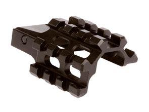 Utg Robot utg weaver picatinny rail 3 slot angle mount integral detach lever lock system