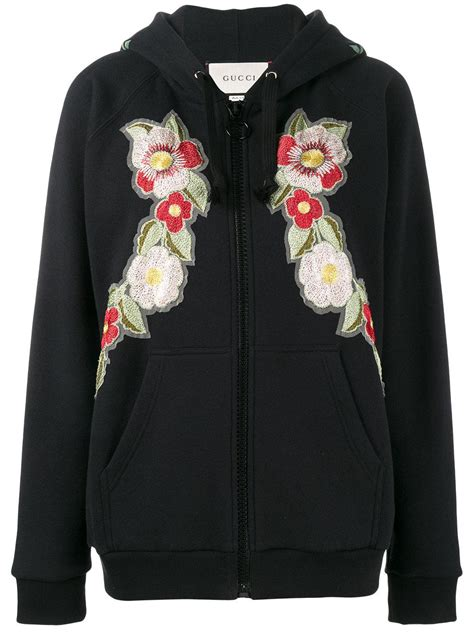 Hoodie Sweater Guns And Roses Merah Cloth gucci black embroidered cotton sweatshirt size 8 in black lyst
