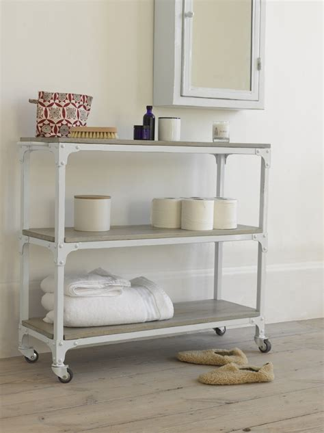 bathroom storage trolley new launch bathroom range from loaf mad about the house