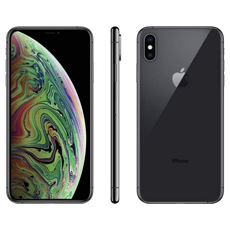 straight talk apple iphone xs max wgb gray walmartcom