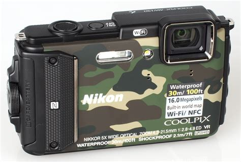 nikon coolpix aw130 review