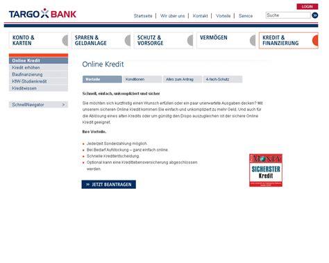 bank kredite targo bank auto kredit g 252 nstig