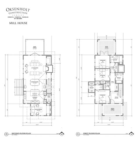 Mill House Oksenholt Construction