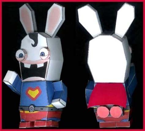 Rayman Papercraft - rayman papercraft bunny clark superman paperkraft