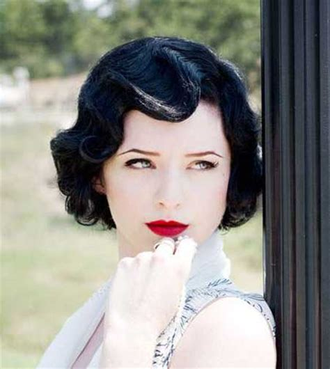 how to get authentic retro vintage haircut vintage hairstyles short hair short hairstyles 2017