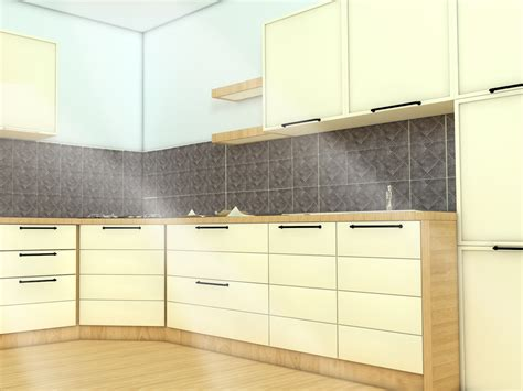 install backsplash in kitchen how to install a kitchen backsplash with pictures wikihow