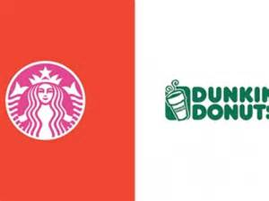 dunkin donuts colors here s what 22 logos would look like if they