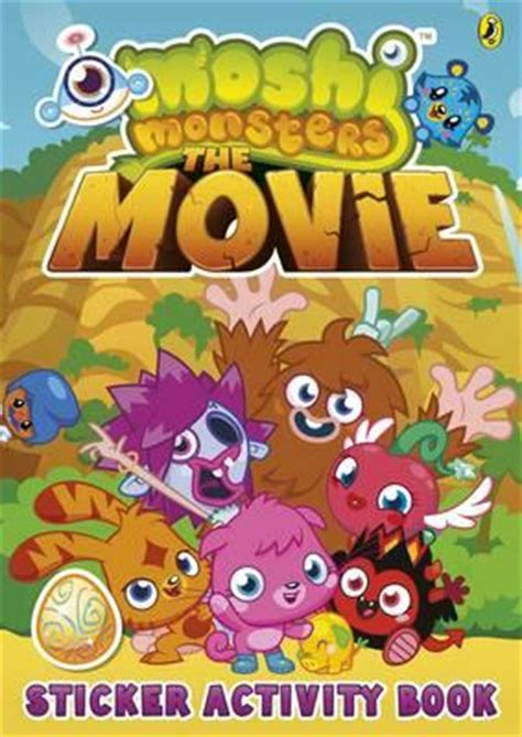 moshi moshi a novel books moshi monsters the sticker book 9780141352282