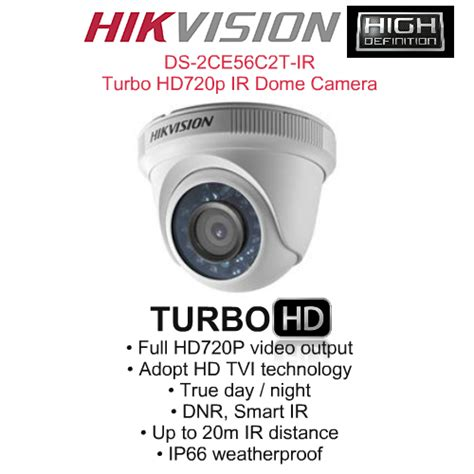 Cctv Hikvision Hybrid 10 Mp 720p Support Dvr Analog Ds 2ce56f4p hikvision 16 cctv cameras 16 ch dvr standalone kit power supply