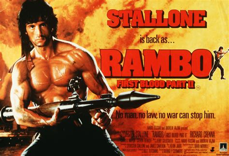 film rambo 2 rambo first blood part ii 1985 film review by gareth