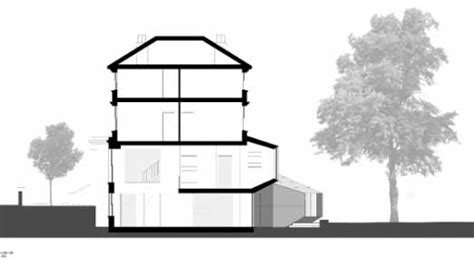 How To Draw A Floorplan north london house extension e architect