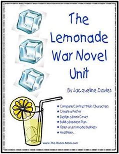 the lemonade war book report 1000 images about novel studies on book