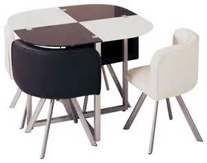 compact dining tables d536dt compact white black acrylic with leatherette five
