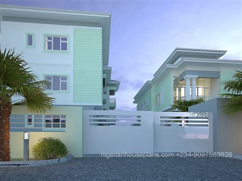 5 bedroom duplex house plans 2 3 bedroom block of flats ref 5012 nigerianhouseplans