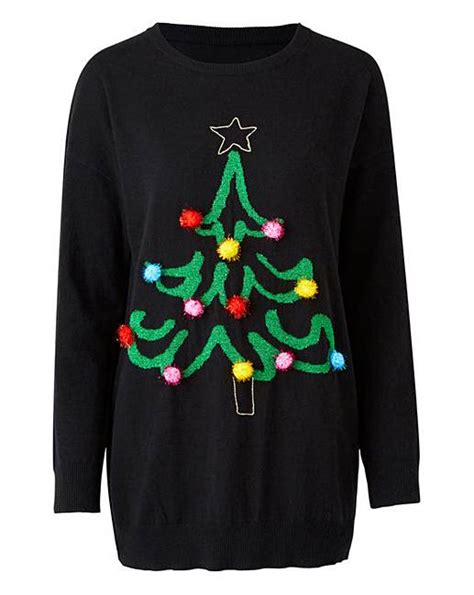 christmas tree jumper simply be
