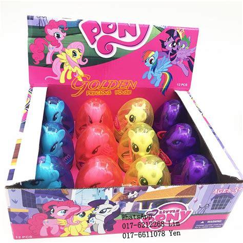 Figure Pony Set 4 Pcs my pony egg mini figure 12p end 11 13 2017 6 15 pm