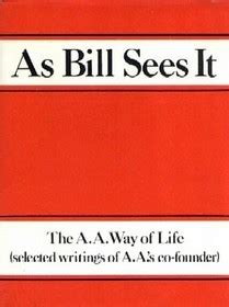 as bill sees it selected writings of the a a s co