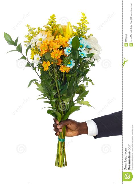 Architecture Business Cards hand giving flowers stock photo image 2356090