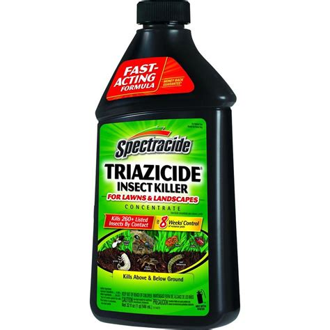 spectracide triazicide 32 fl oz concentrate lawn insect