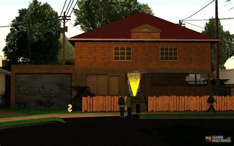 gta san andreas houses house on grove street c j for gta san andreas
