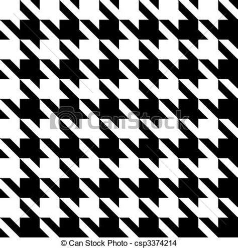 drawing houndstooth pattern drawing of houndstooth pattern black and white seamless