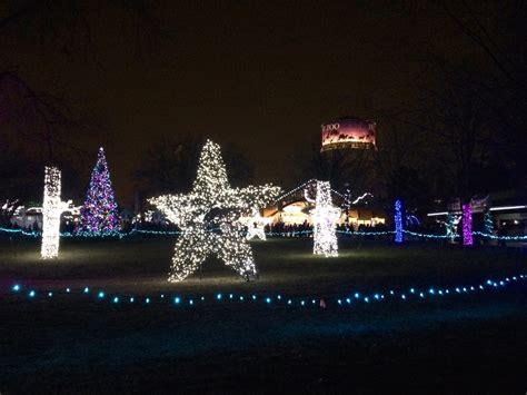 lights at the detroit zoo lights marshmallows margaritas