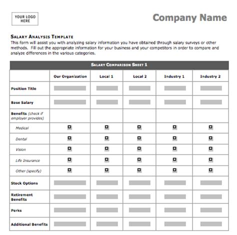 College Comparison Sheet Template   Excel Templates
