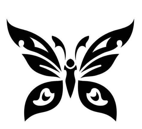 tribal butterfly tattoo images 25 awesome tribal butterfly only tribal