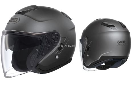 Helm Shoei J Cruise Grey Not Arai Agv Nolan Shark free 2 day ship shoei j cruise solid matte grey