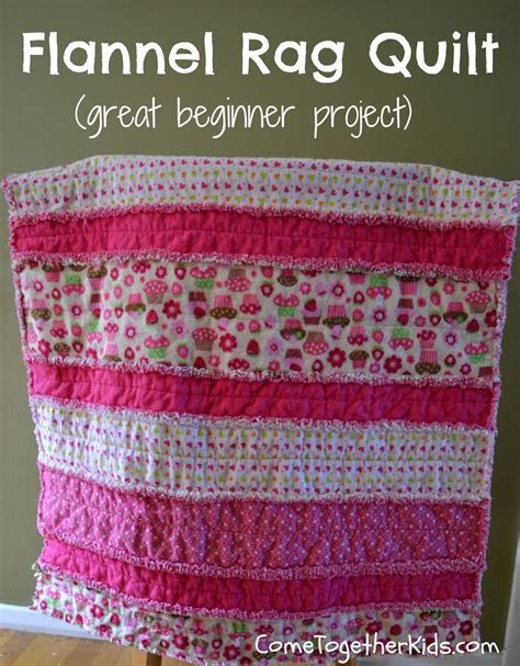 Baby Rag Quilts For Beginners make this adorable baby quilt pattern for beginners
