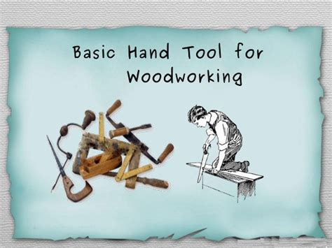 basic hand tools  carpentry work