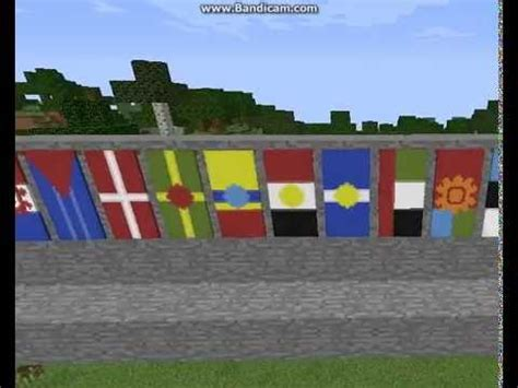 flags of the world minecraft minecraft banners all the flags in the world youtube