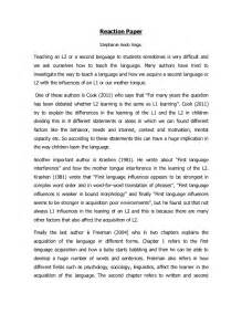 Response Essay Exle by Reaction Paper