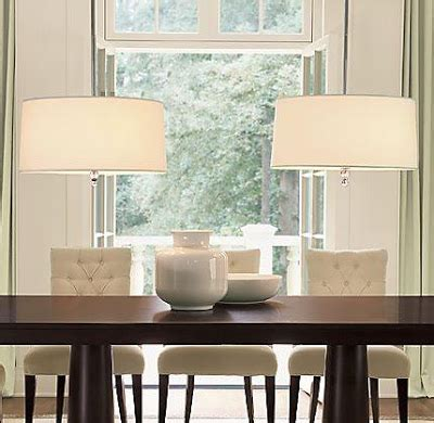 Drum Light Chandelier Dining Room by Designing Home Decorating A Dining Table 1